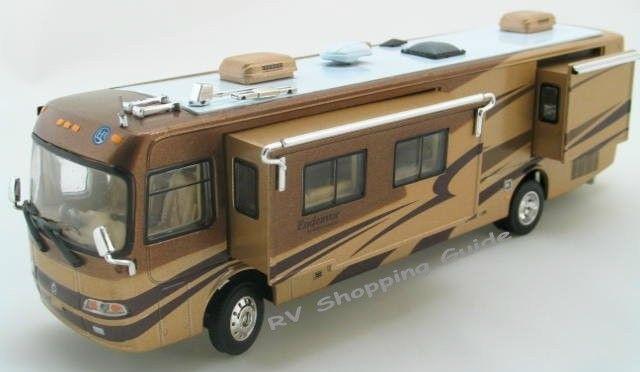 Holiday Rambler Endeavor Motorhome Diecast Model Miniature