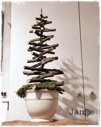 Jannes kreativní svět: Dnes jsem se vánoční strom :)))