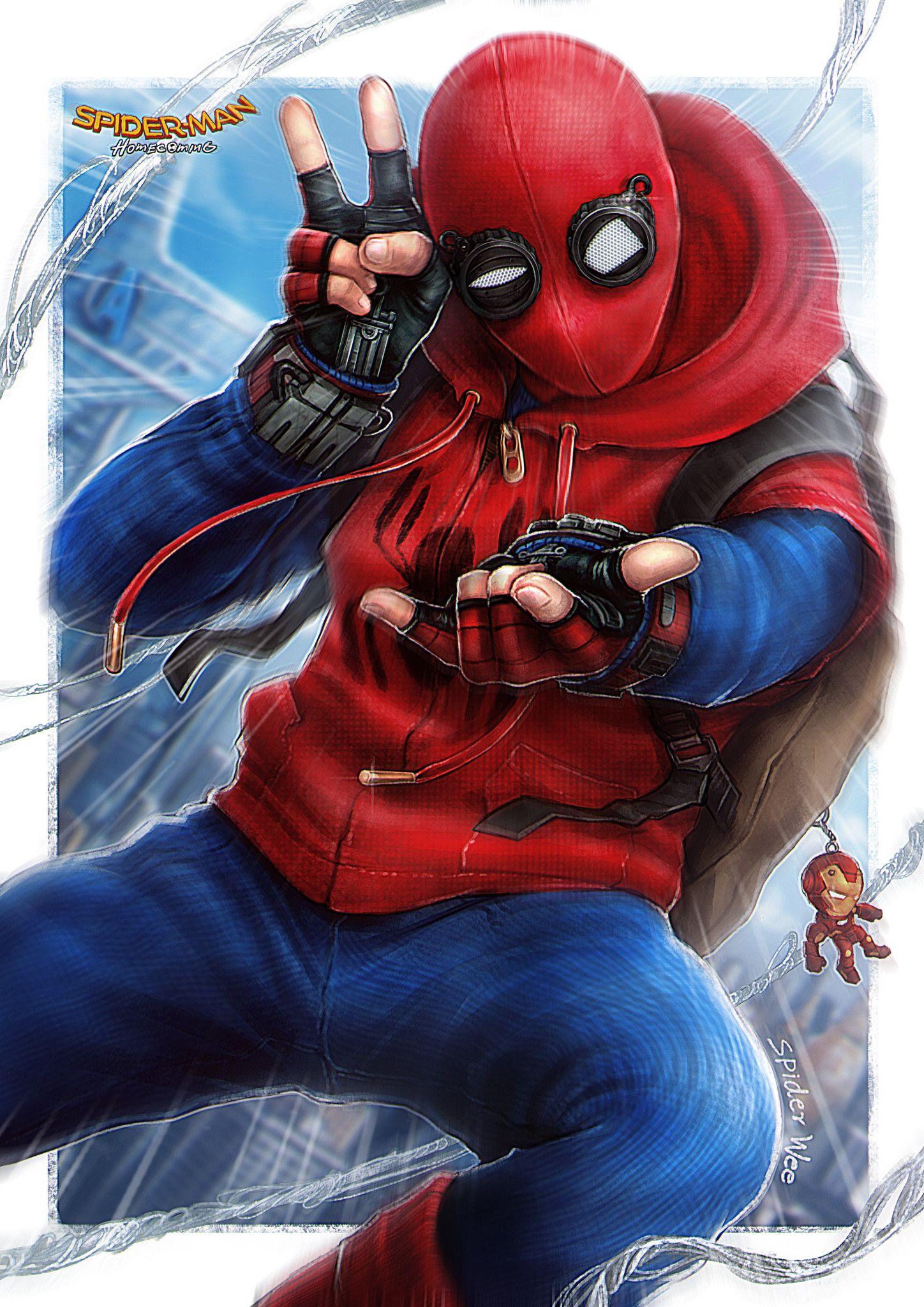 Вечерний фильм : « Человек - паук : Возвращение домой ». Без