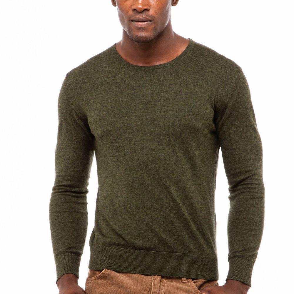 "Gant Rugger ""The Crue"" Men's New Crew Neck Sweater Large Green NWT $145…"