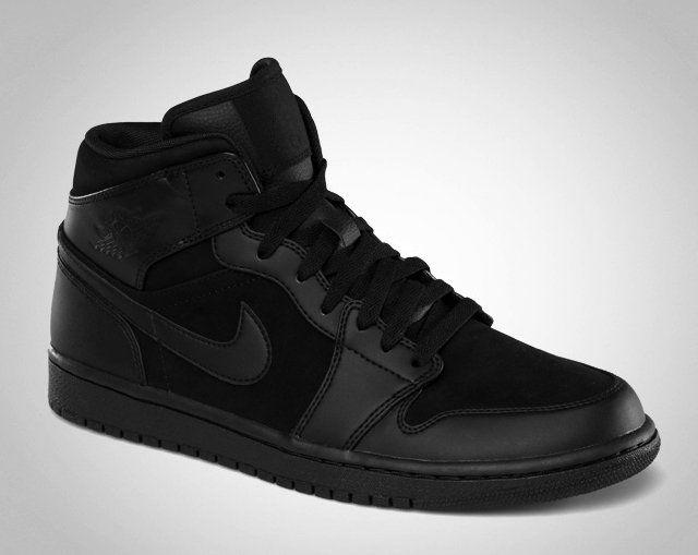 buy popular c4350 aa9ca Fancy - Nike Air Jordan 1 Phat Black