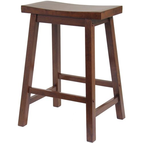 Saddle Seat Stool 24 Walnut May Need 2 Of These For The Low Kitchen Bar In The New Apt 28 Each Saddle Seat Bar Stool Winsome Wood Saddle Bar Stools