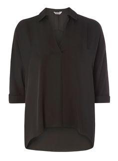 Petite Black Shirt