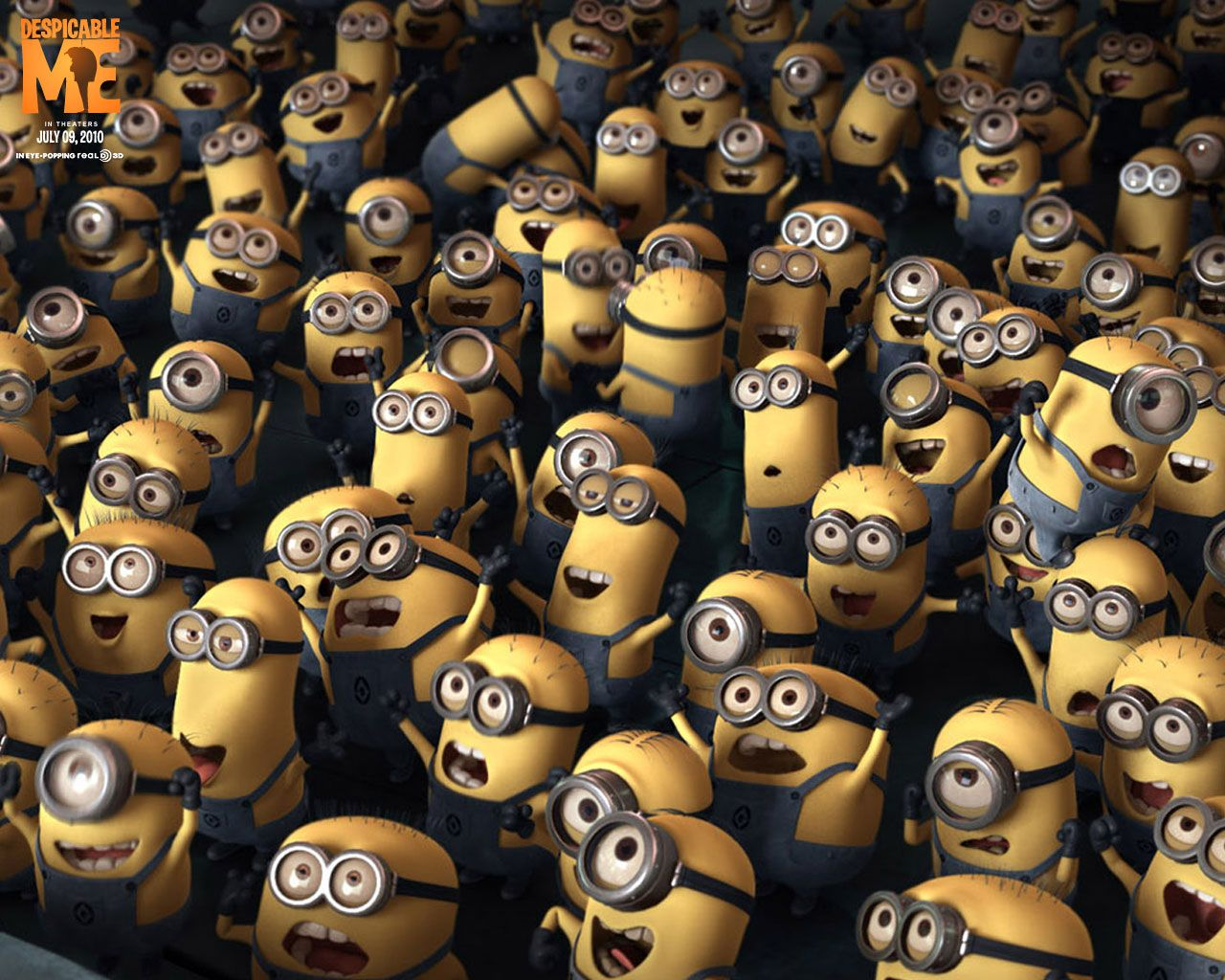 Despicable me despicable me wallpaper gallery movie wallpapers despicable me minion crowd hd wallpaper in full hd from the movies tv category tags crowd despicable me minions voltagebd Image collections