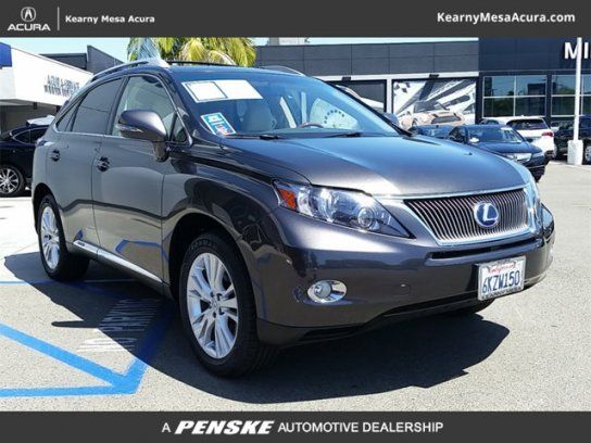 Sport Utility, 2010 Lexus RX 450h AWD with 4 Door in San