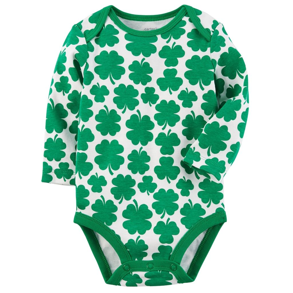 fa525c1a9e Baby Carter s Clover Bodysuit