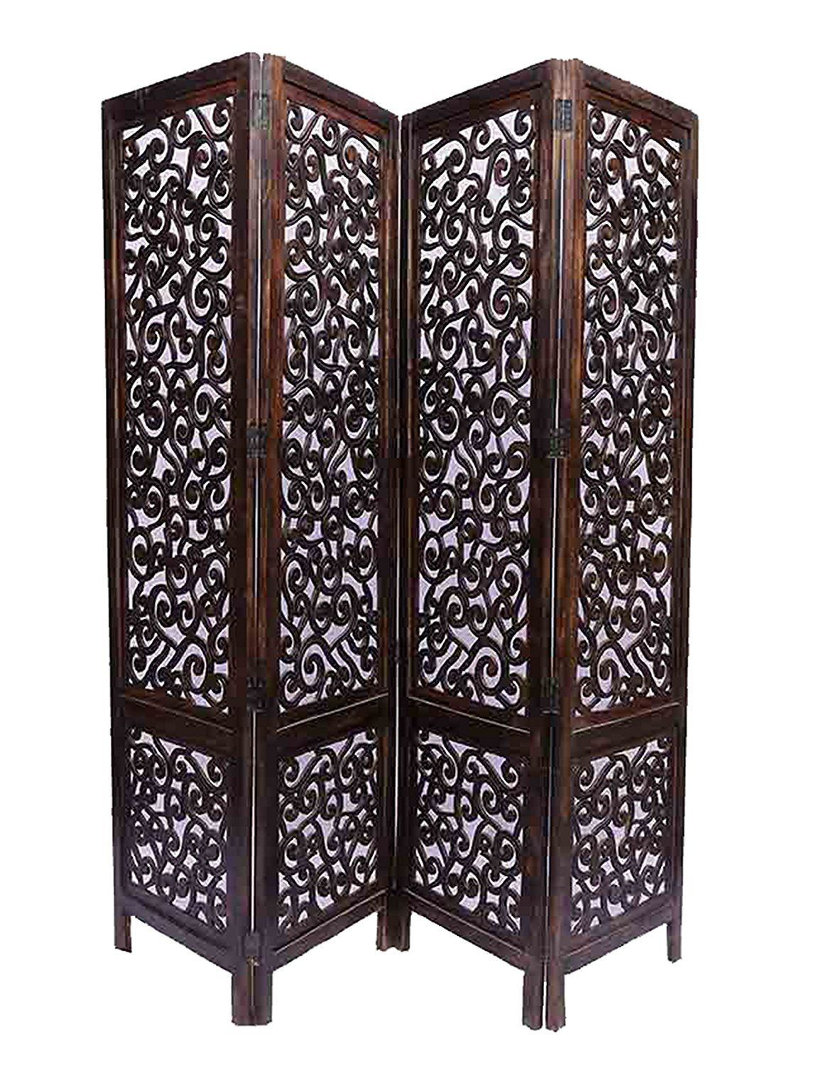 Buy Aarsun Mdf Wooden Partition Small Room Screen Room Divider Room Separator Online At Low Prices In India On Wooden Partitions Room Divider Room Screen