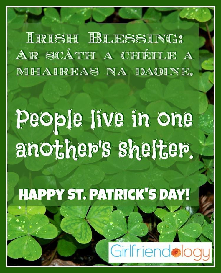 Happy St. Patrick's Day! Blessings, BFFs And New Beginnings