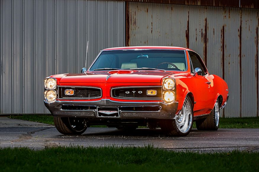 Refined Powerful A 1966 Pontiac Gto For The Highway In 2020 Pontiac Gto Muscle Cars Gto