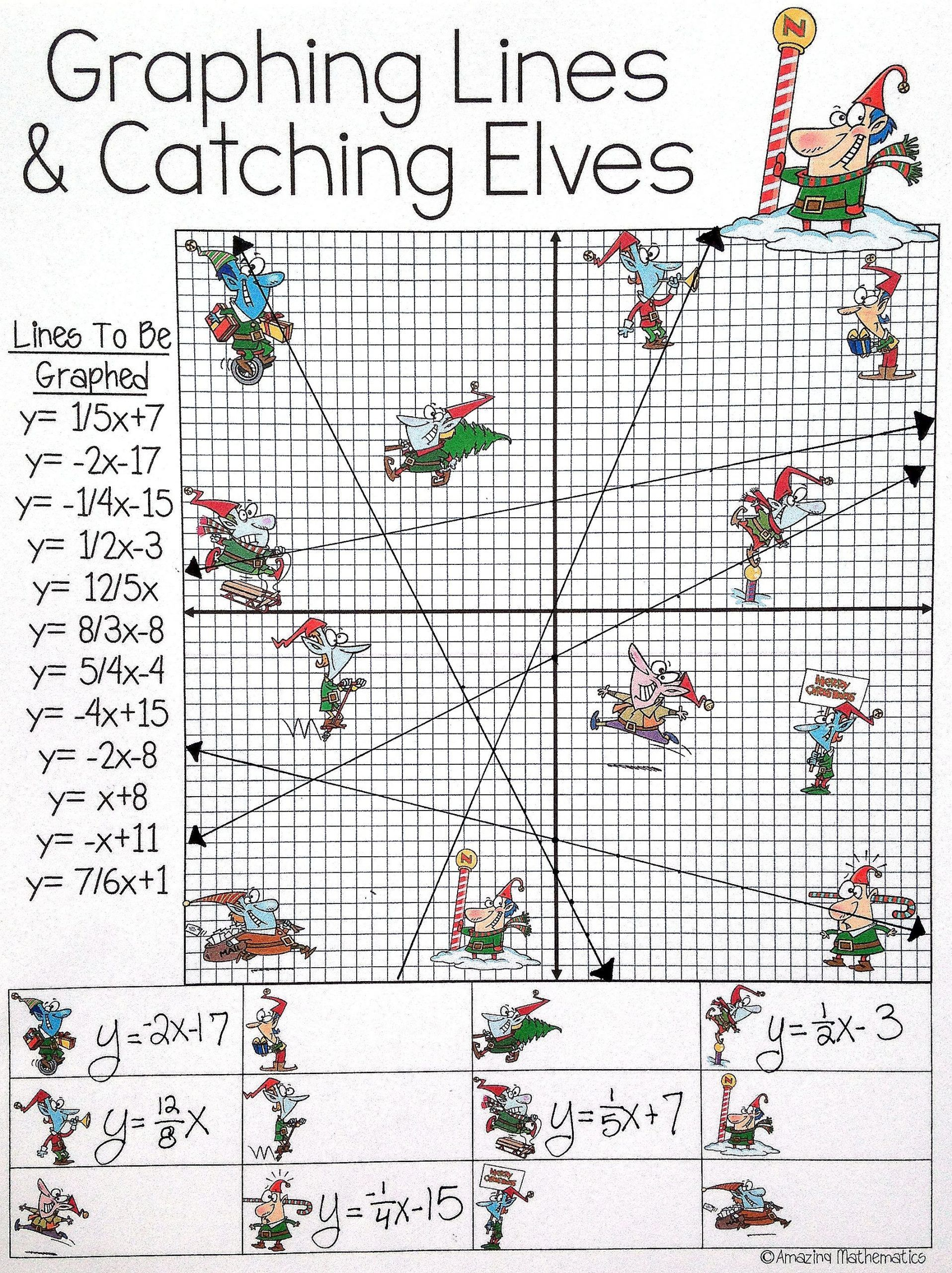 Solve By Graphing Worksheet Super Teacher Worksheet Line