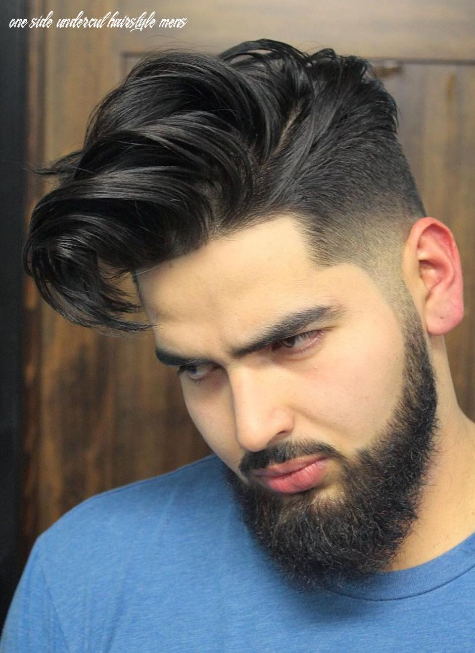 4 One Side Undercut Hairstyle Mens  Undercut fade hairstyle, Mens