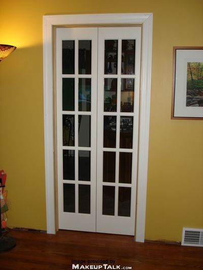 Mini French Doors Going Into Bathroom From Bedroom Frost The