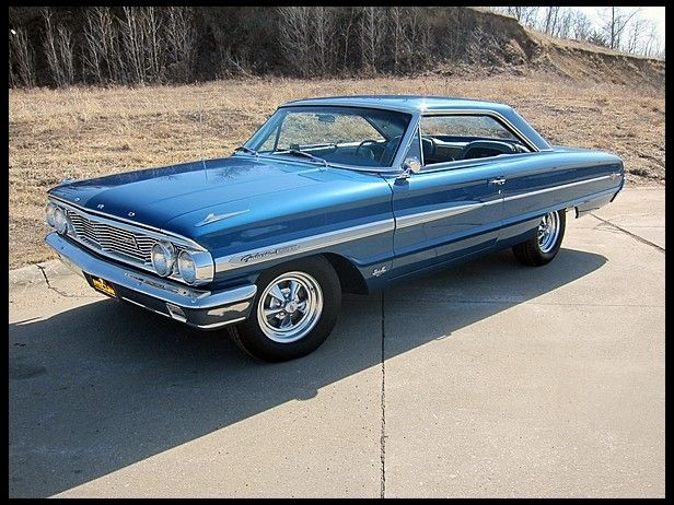 1964 Ford Galaxie 500 Xl Hardtop Ford Galaxie Classic Cars