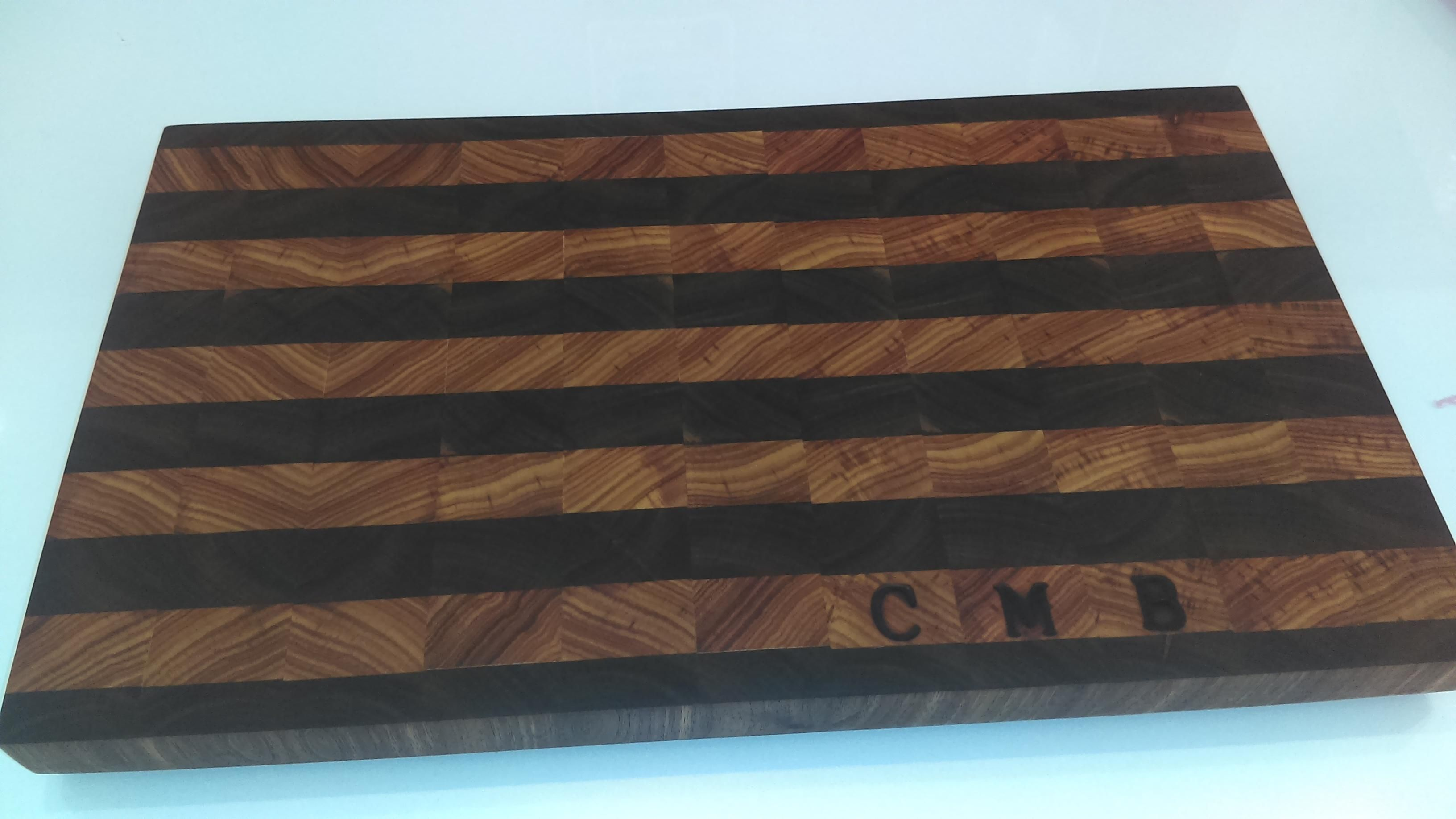 End grain cutting board I made awhile back for a friend http://ift.tt/2d7ZOLe