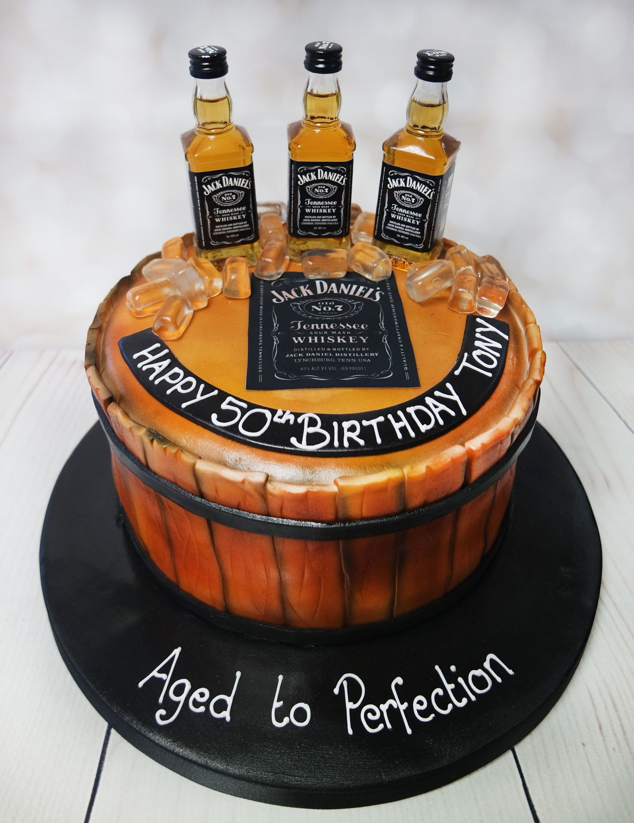 Strange Jack Daniels Cake Jackdanielscake Whiskeycake S Personalised Birthday Cards Sponlily Jamesorg