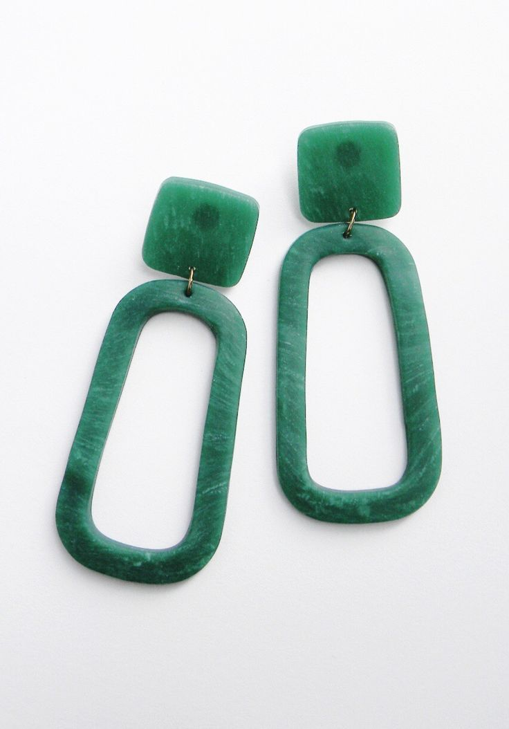 Handmade Oversized Statement Earrings Avu On Etsy