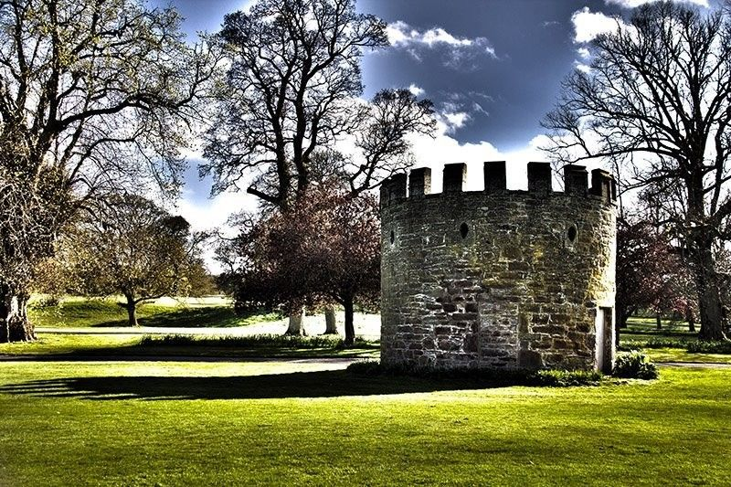 Lawns of MacBeth Castle by Dr. Suhail Iqbal
