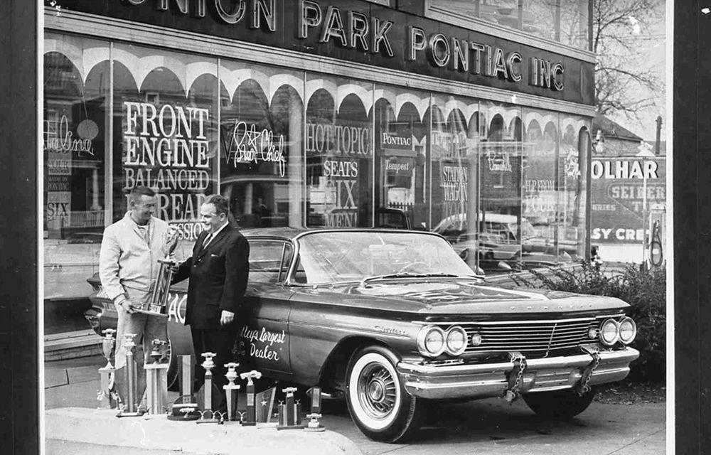 Union Park Pontiac Wilmington Delaware 1960-1961 | Vintage ...