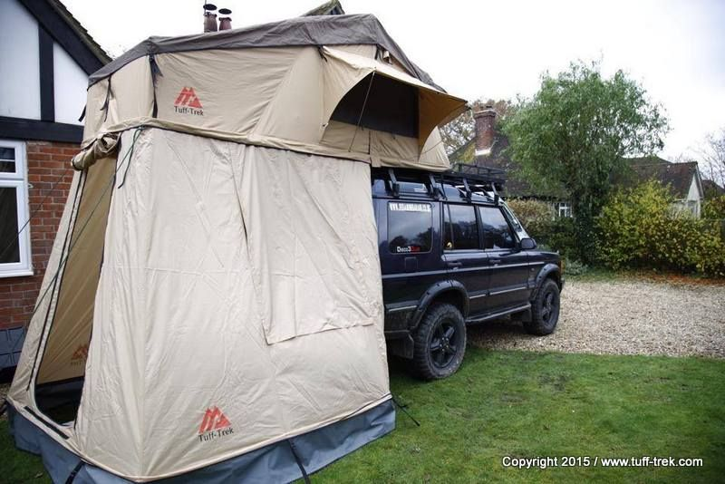 A selection of genuine canvas soft folding roof tents from UK Roof Tent specialists Tuff-Trek ® LTD we have one of the best ranges of Roof Tent styles and ... & Tuff-Trek Canvas Soft-Top Rooftents - Tuff-Trek | Defender envy ...
