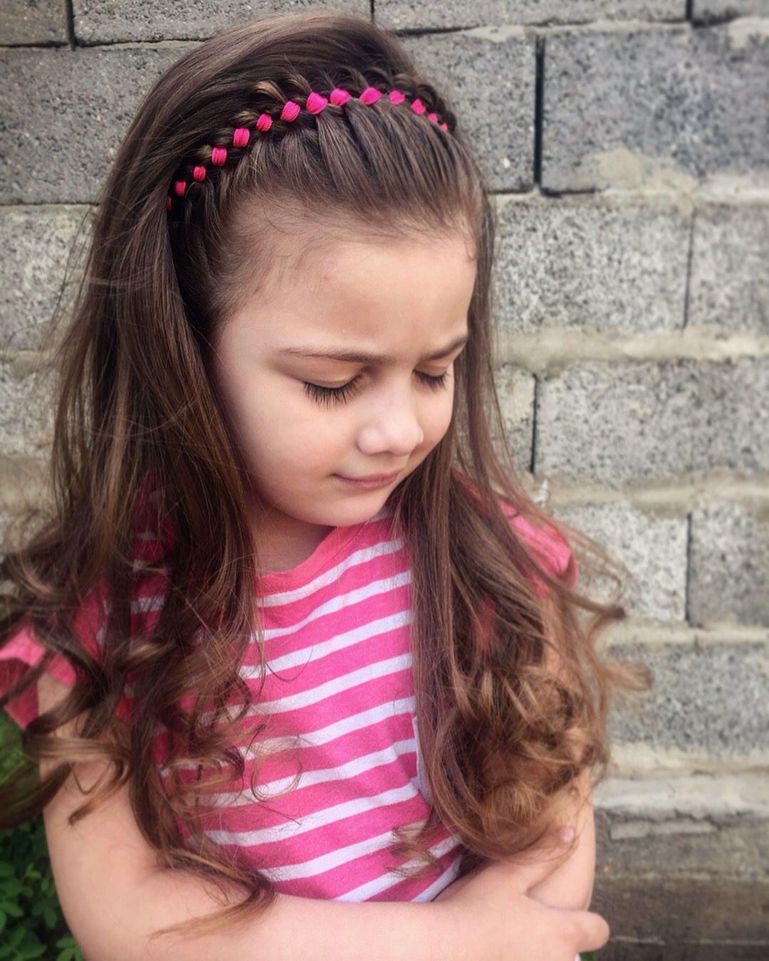 De moda peinados infantiles Galería De Consejos De Color De Pelo - Pin de Роза Гарумова en Braids ideas Причёски из кос ...