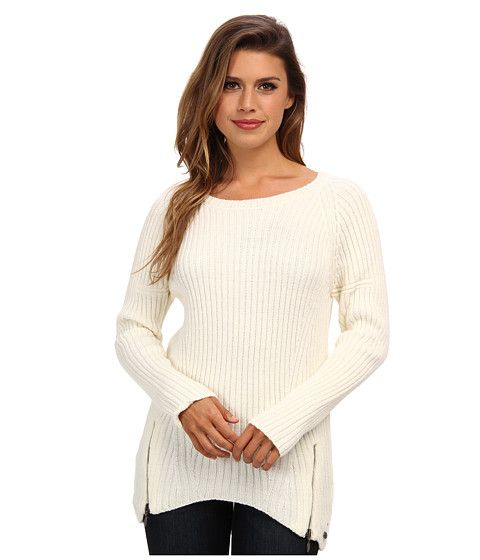 Mavi Jeans Mavi Jeans  Zip Detailed Sweater Off White Womens Sweater for 28.99 at Im in!