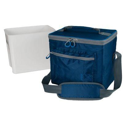 Embark 12 Can Mini Rec Cooler Blue Cooler Mini Rolling Cooler