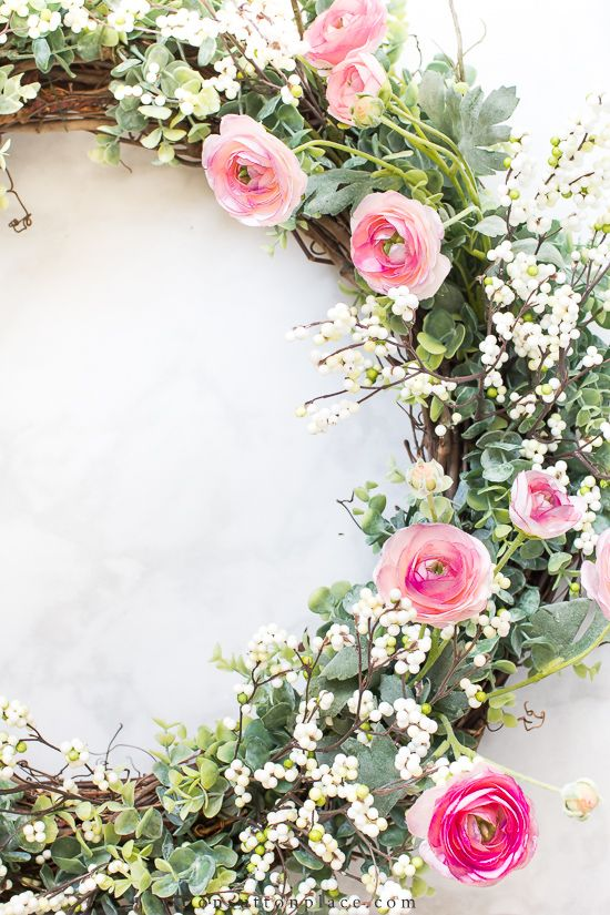Photo of Simple and beautiful 3-stage DIY DIY spring wreath