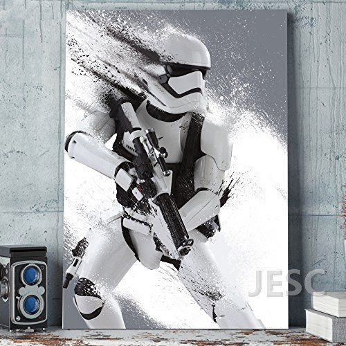Large size storm trooper star wars movie painting hd print on canvas art for living room decor wall kids home no frame only  also rh pinterest