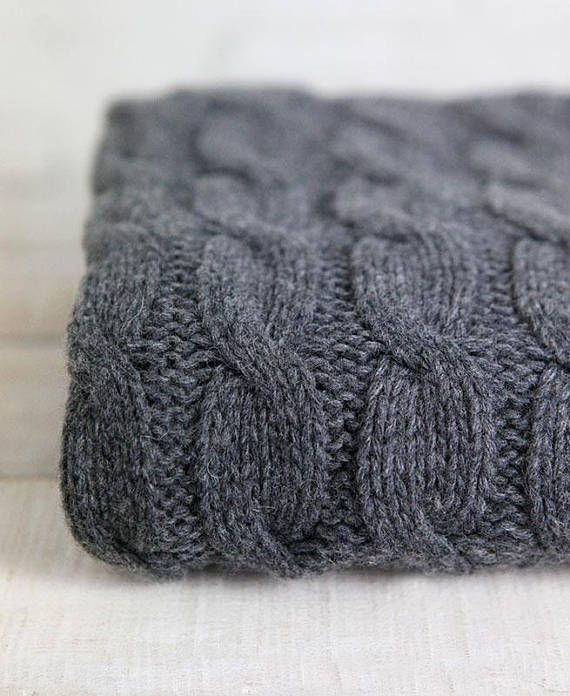 alpaca cable knit wool fabric grey knitted fabric by the metre rope grey shop pinterest. Black Bedroom Furniture Sets. Home Design Ideas