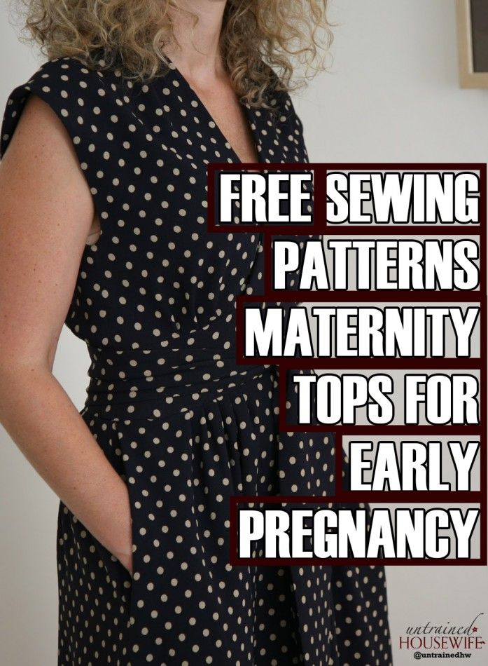 Free Sewing Patterns Maternity Tops For Early Pregnancy Future