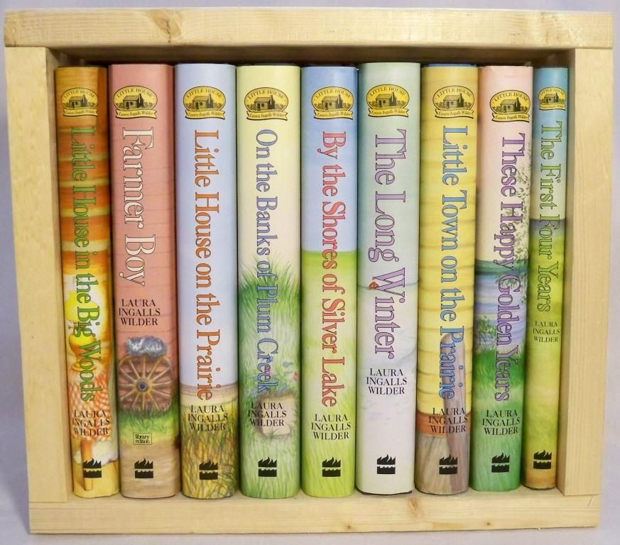 This Non Fiction Series By Laura Ingalls Wilder Tells The Story Of