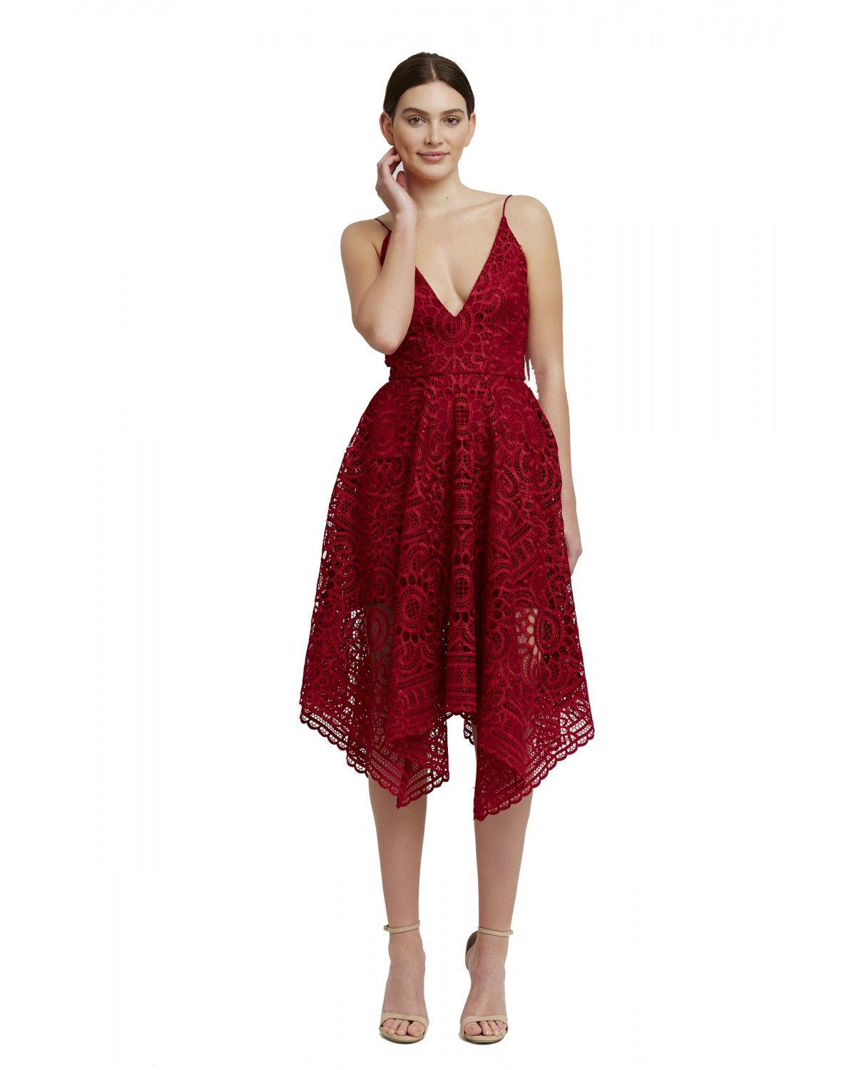 Floral Lace Ball Dress