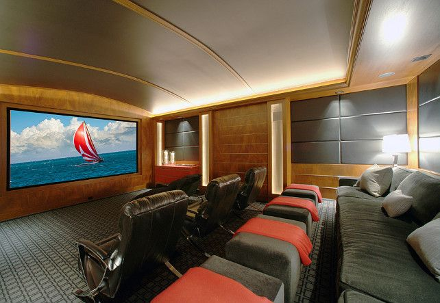 Theatre Room Design Ideas This Is Such An Inspiring Theatre Room