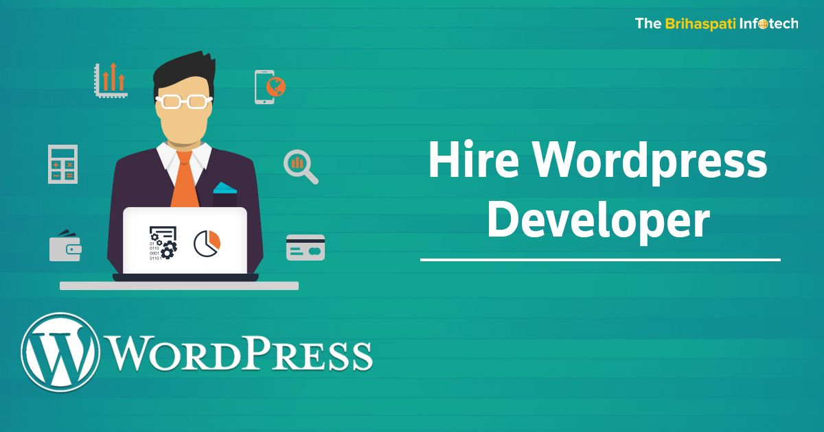 Hire Wordpress developer & programmers from The Brihaspati Infotech