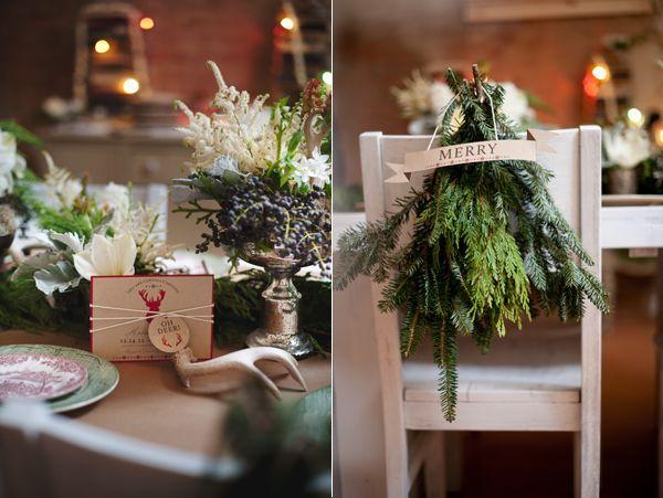 Pinterest Winter Wedding Centerpieces: Evergreen Wedding Decorations