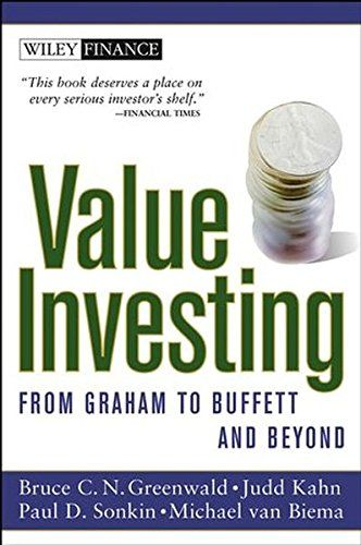 Value Investing From Graham To Buffett And Beyond By Bru Https Www Amazon Com Dp 0471463396 Ref Cm Sw R Pi Value Investing Investing Books Finance Books