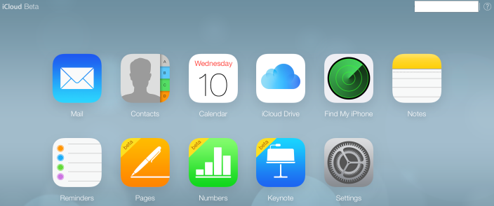iCloud beta Icloud, Iphone notes