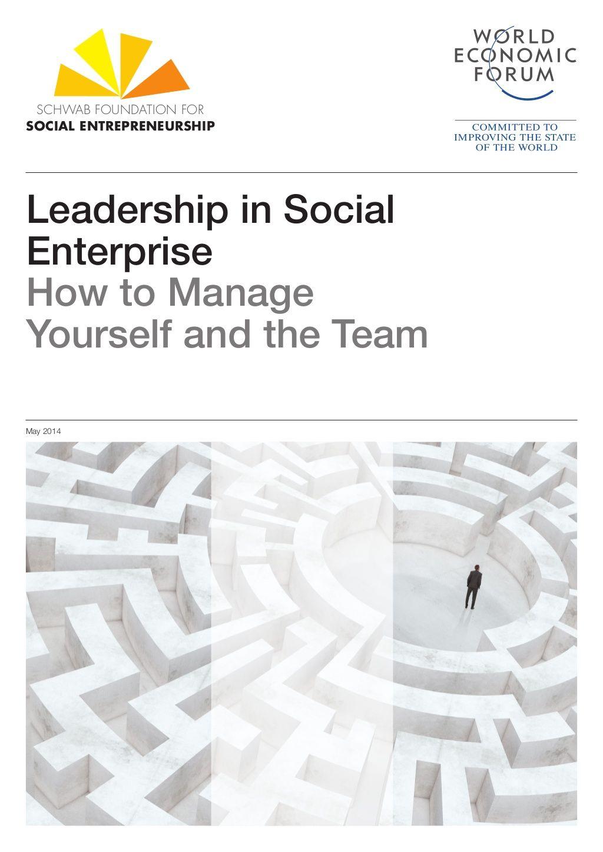 Schwab foundation for social entrepreneurship leadership in social_