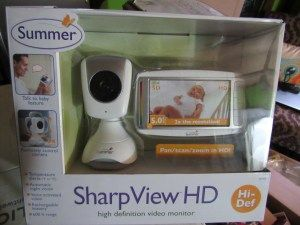 """""""One of the best features is the Voice Activated Video…This replaces the need for parents to press the 'video on/off' button to bring (the image) back on screen…"""" Find out what other features of the Sharp View HD Monitor this mom loves."""