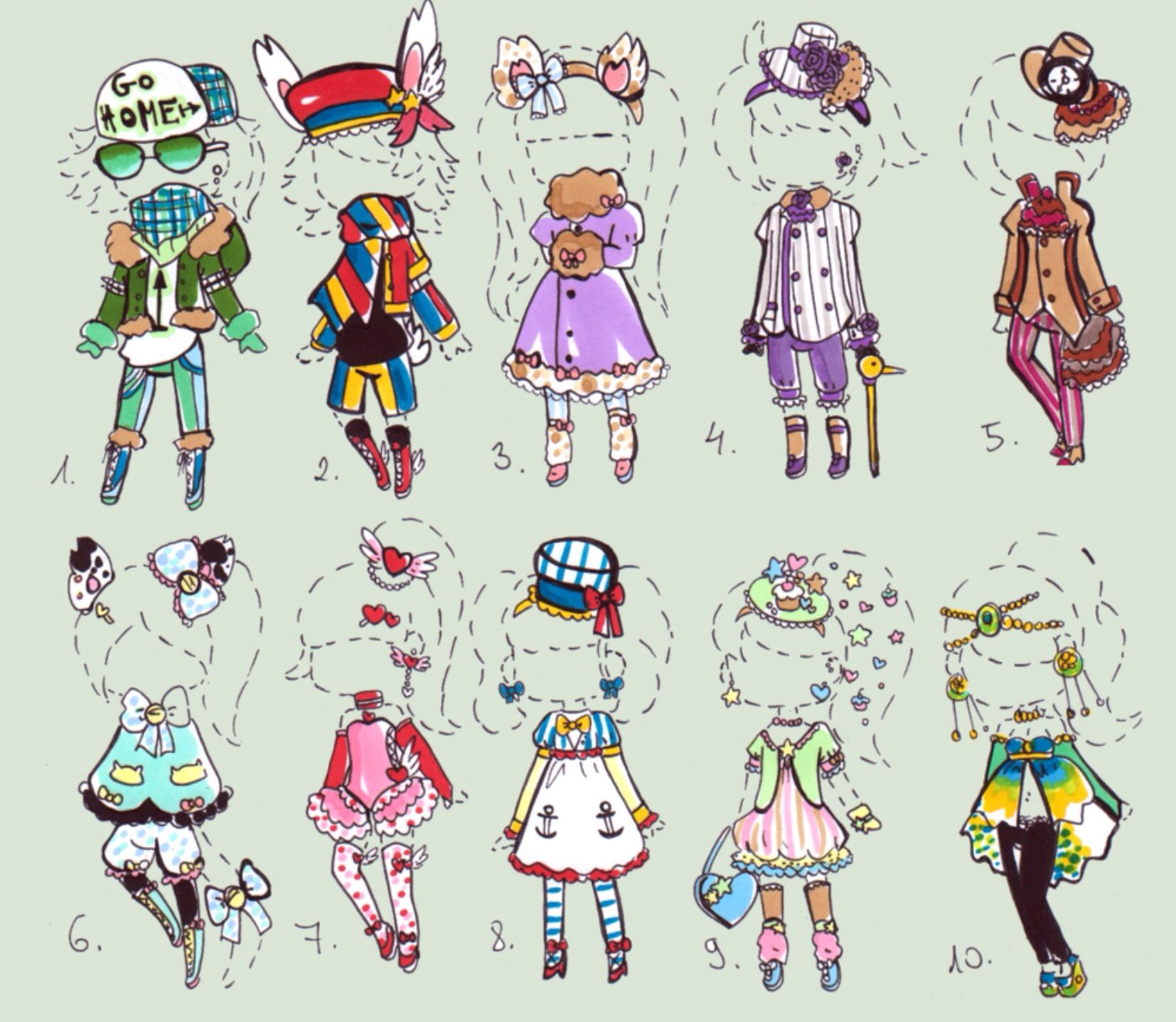 Guppie-Adopts  Drawings, Character design, Fashion design drawings
