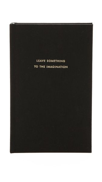 d42139c16919 Leave Something to the Imagination Journal | Inspirational Quotes ...