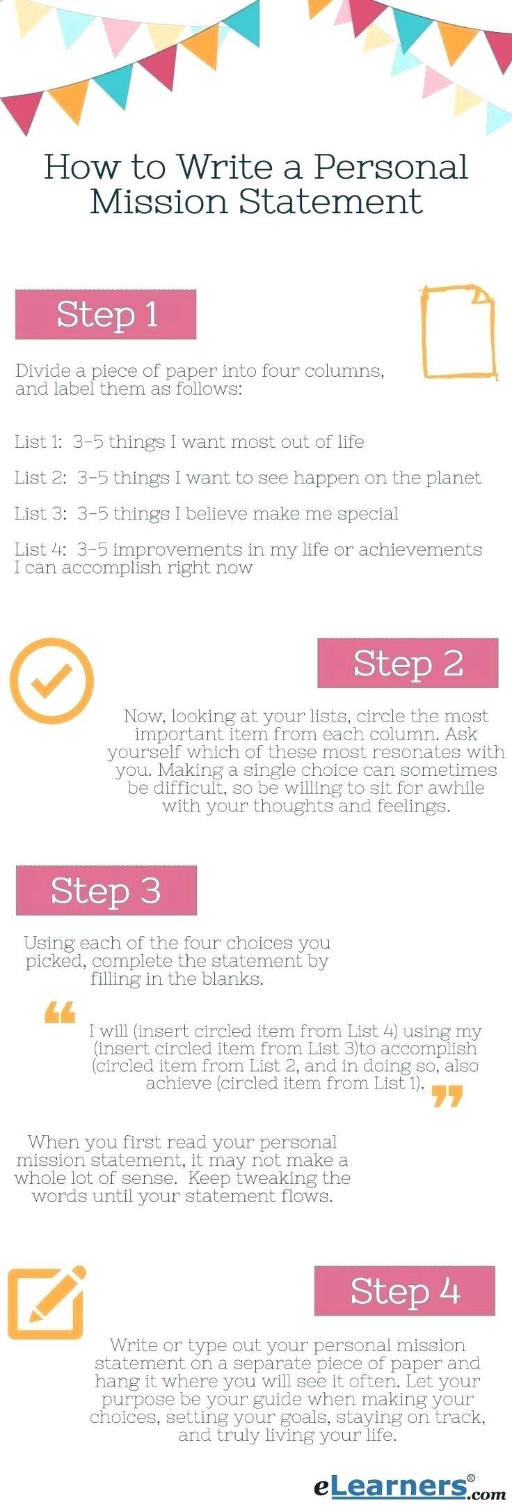 Business Plan Mission Statement Self improvement