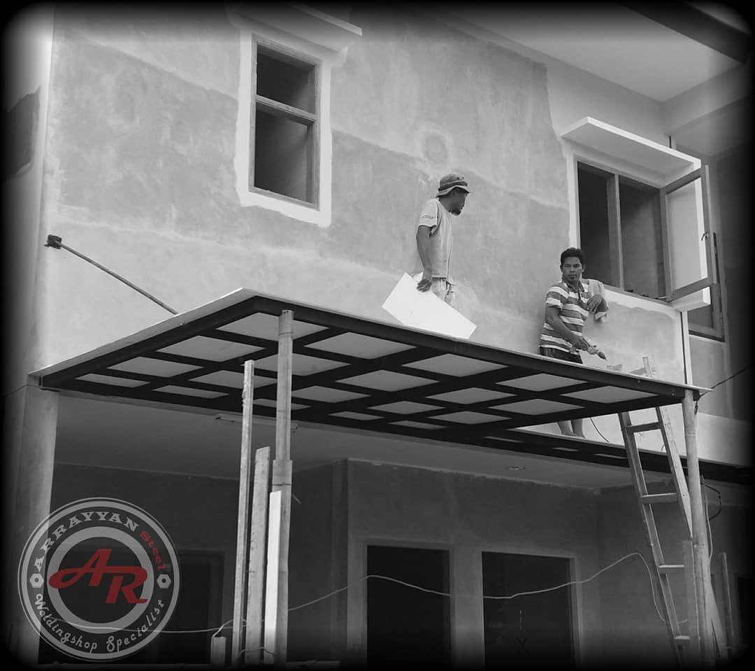 Kanopi Baja Ringan Model Gantung Carport Atap Grc Sling Atau Arrayyansteel