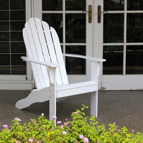 Phenomenal Fsc Hardwood Adirondack Chair Multiple Colors Patio Creativecarmelina Interior Chair Design Creativecarmelinacom