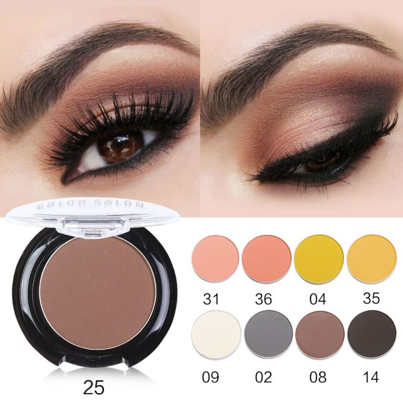 Romantic Sace Lady Natural Matte Eye Shadow Waterproof Palette 18 Colors Pigment Nude Eyeshadow Makeup Brand Beauty Make Up Cosmetic Beauty Essentials Eye Shadow