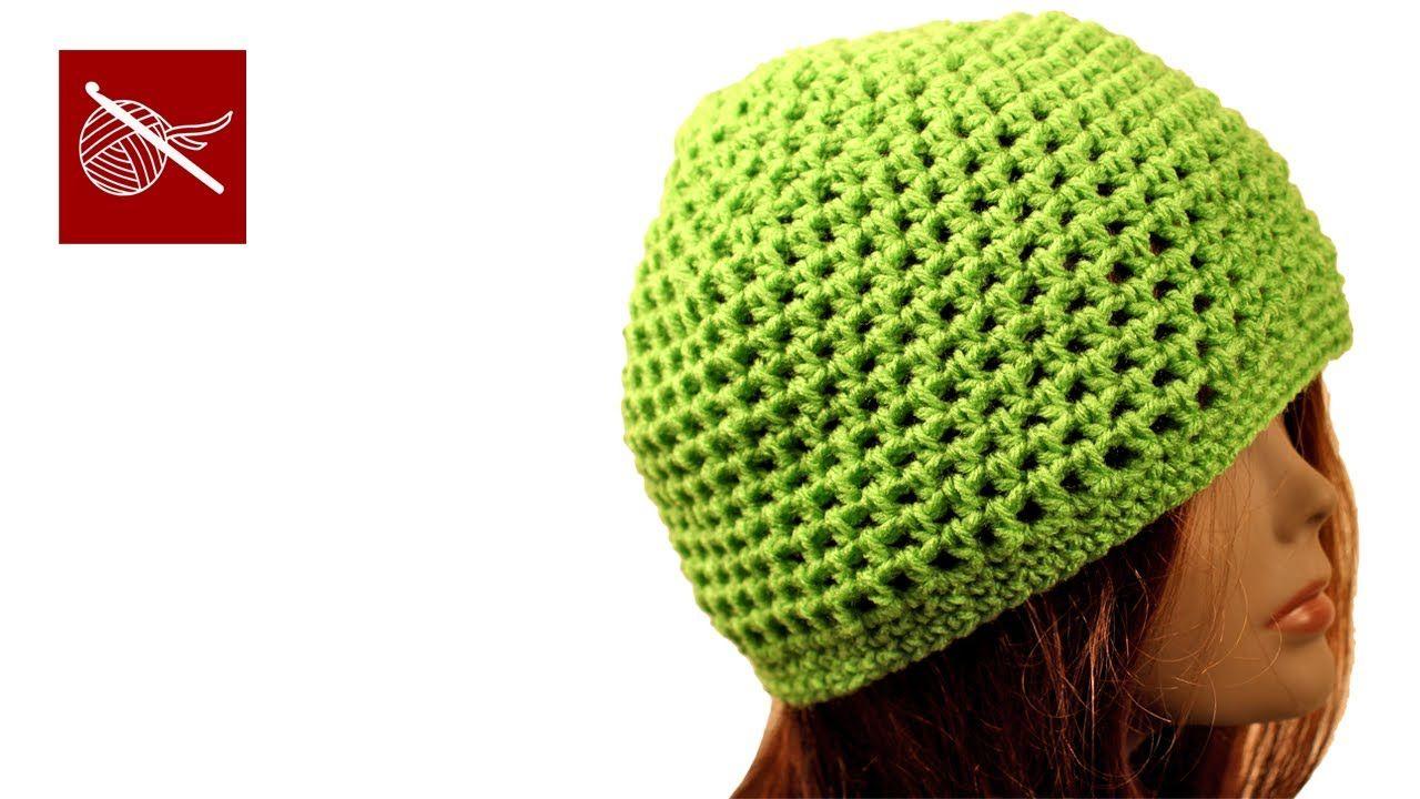 Crochet Mesh Cap Miley - Crochet Geek