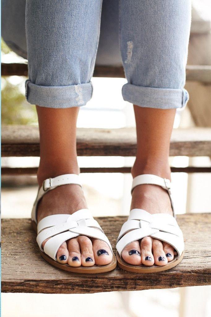 bb7d9e6f1 Salt Water Summer Sandals in White