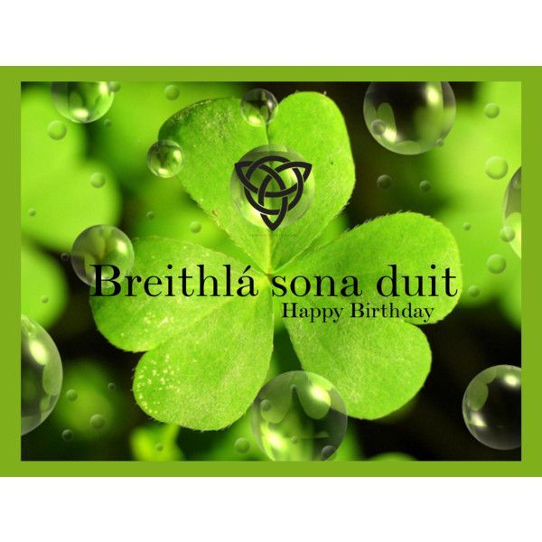 Birthday Irish Blessing Happy Wishes