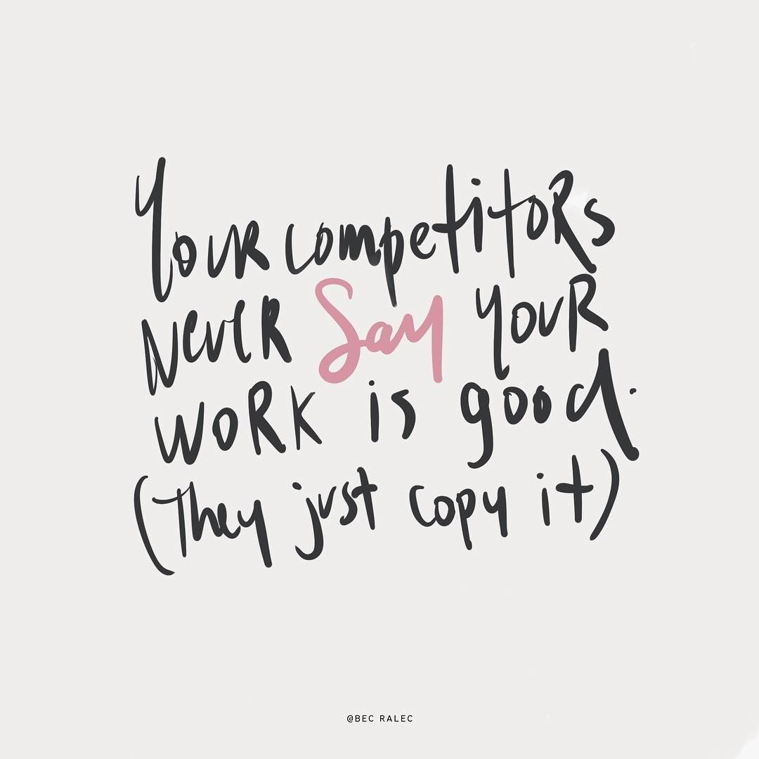 Quotes About Competitors Entrepreneurs Business Funny Quotes Lettering Lettering Quotes Funny Quotes Quotes