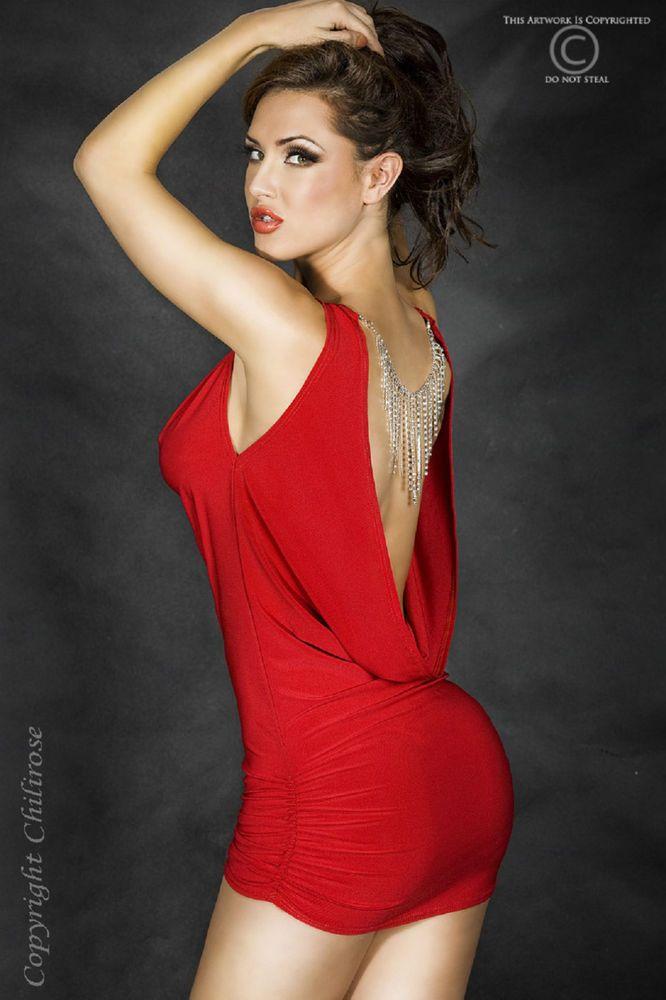 Eleganti abiti di colore rosso firmati Chilirose  abito  vestito  Natale   Capodanno  Italia  shopping  rosso 0b9c8688c57